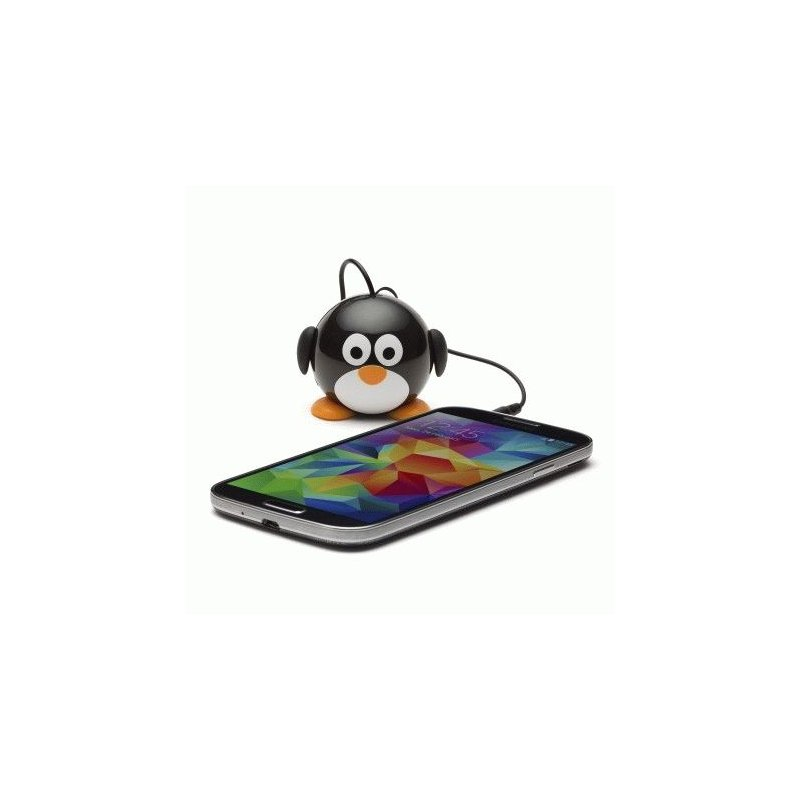 Колонка KitSound Mini Buddy Speaker Penguin