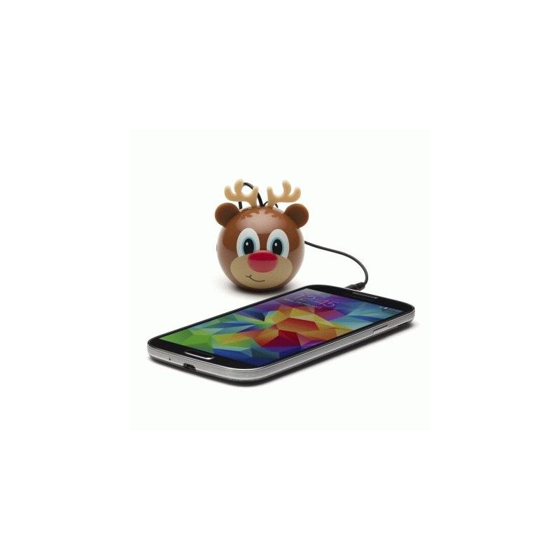 Колонка KitSound Mini Buddy Speaker Reindeer