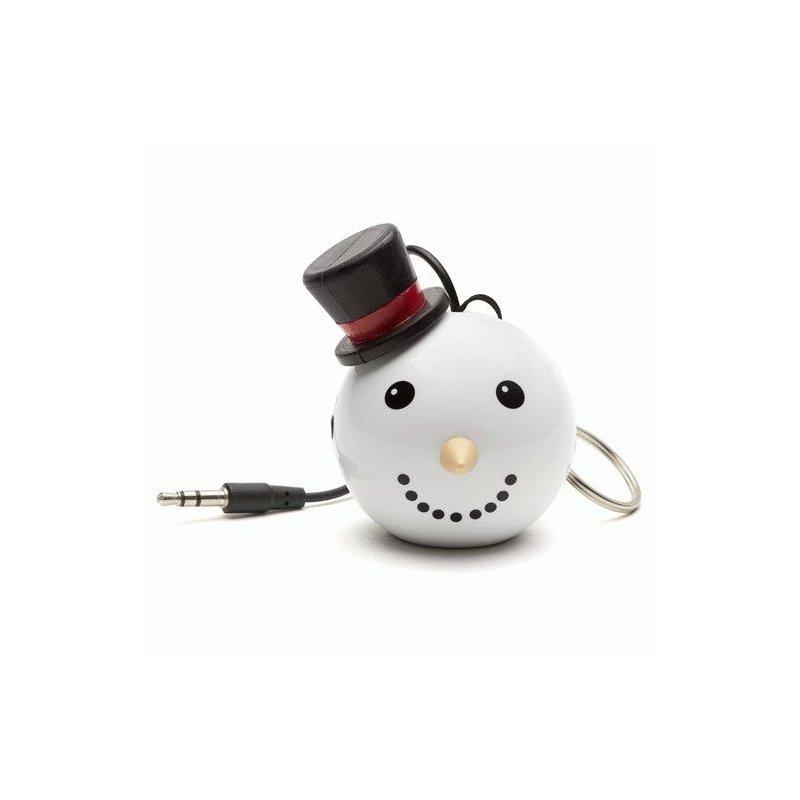 Колонка KitSound Mini Buddy Speaker Snowman (White)