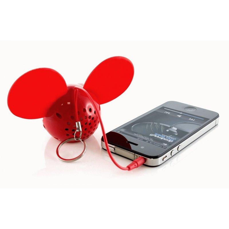 Колонка KitSound Deadmau5 Portable Speaker (Red)