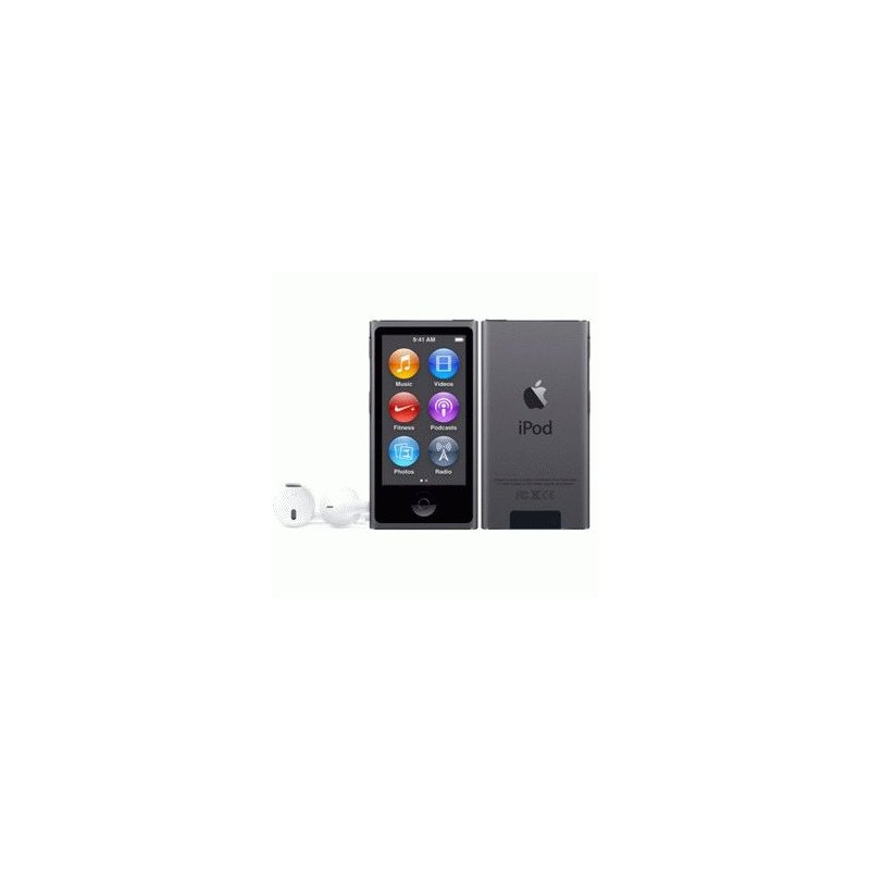 Apple iPod Nano 7Gen 16GB Space Gray (MKN52)