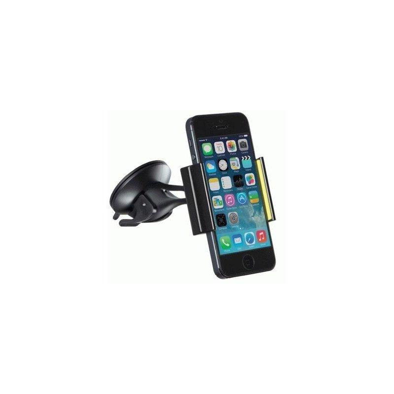 Держатель автомобильный для смартфонов Kit Premium Mini Universal (Black-Green)