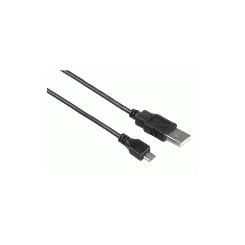 Кабель Kit USB 2.0 Micro USB data/Charge cable 1m (Black)