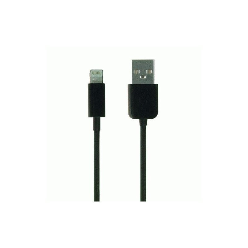 Кабель Kit USB 2.0 Lightning Data and Charge Cable MFI 1m (Black)