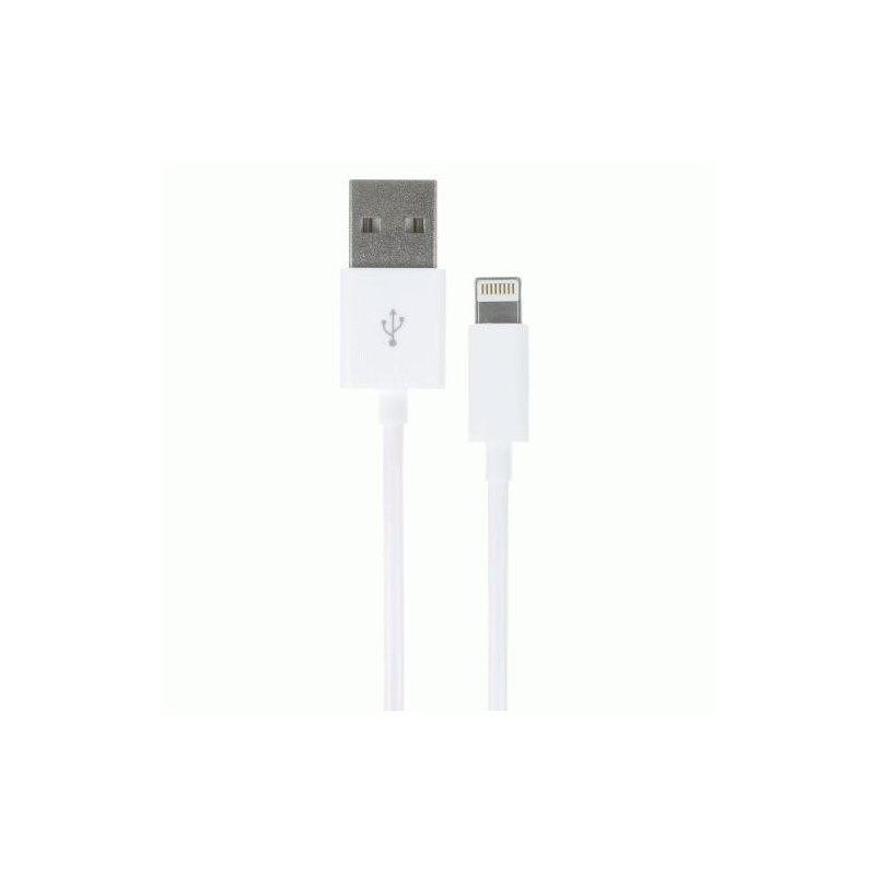 Кабель Kit USB 2.0 Lightning Data and Charge Cable MFI 1m (White)