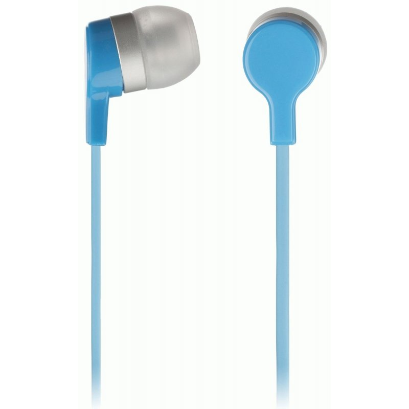 KitSound Entry Mini In-Ear Headphones with Mic Blue (KSMINIBL)
