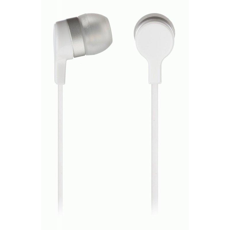 KitSound Entry Mini In-Ear Headphones with Mic White (KSMINIWH)
