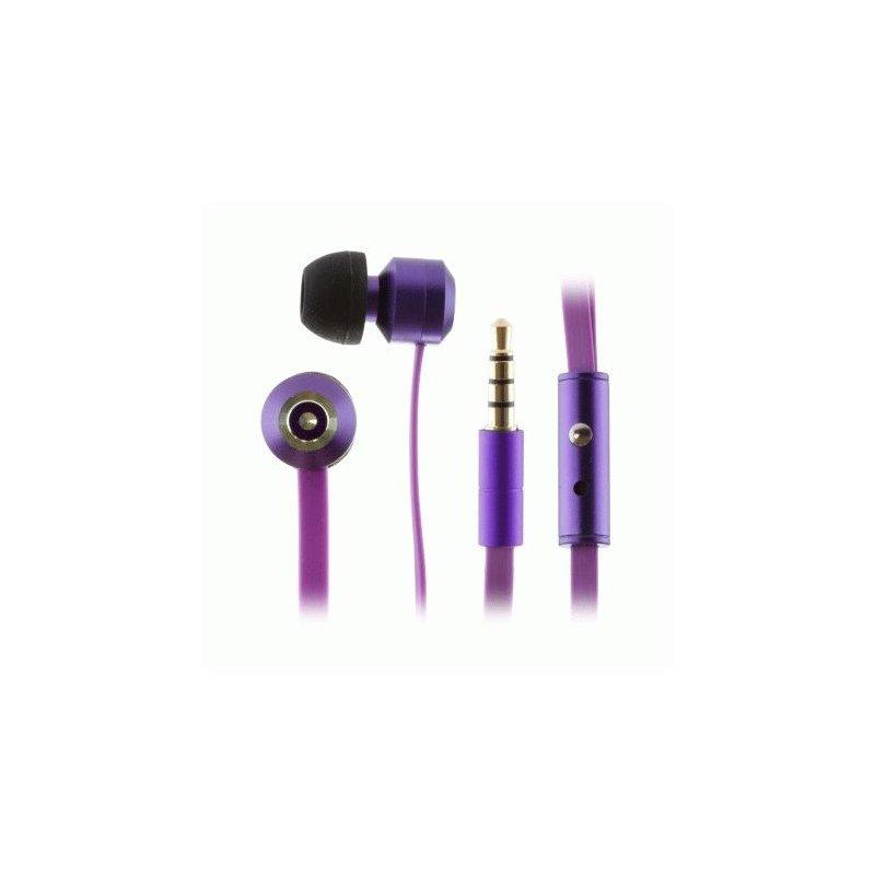 KitSound Ribbons earphones Purple (KSRIBPU)