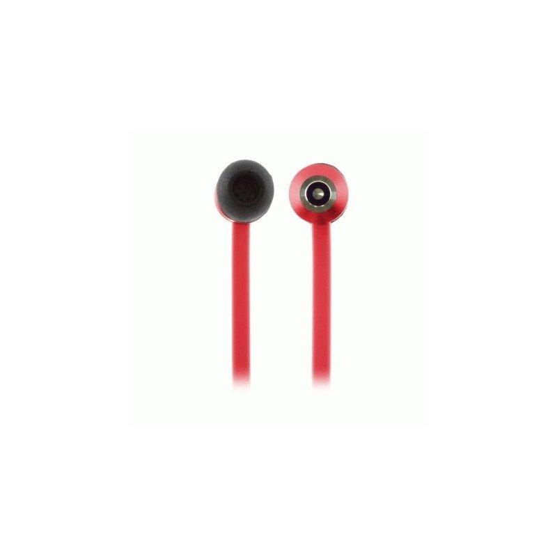 KitSound Ribbons earphones Red (KSRIBRD)