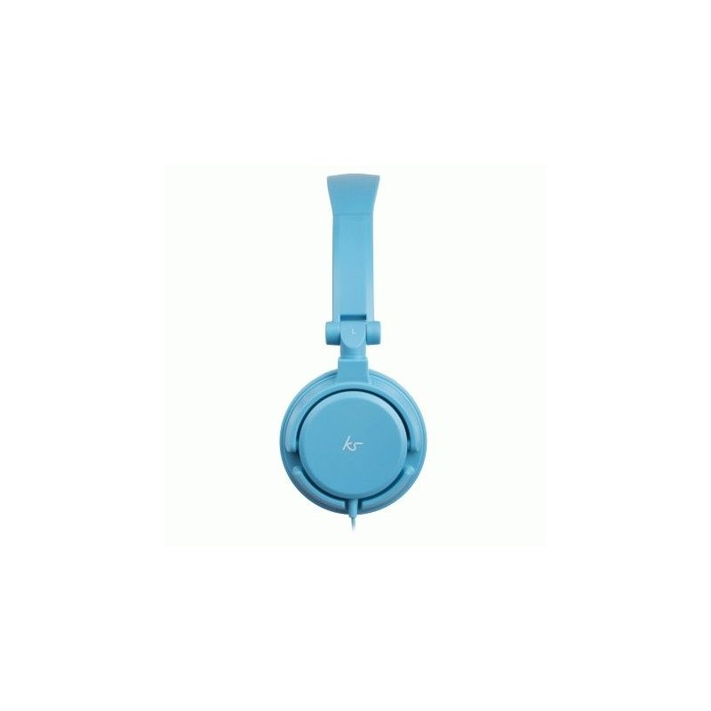 KitSound iD Headphones with Microphone and Multi-function Button Blue (KSIDBL)