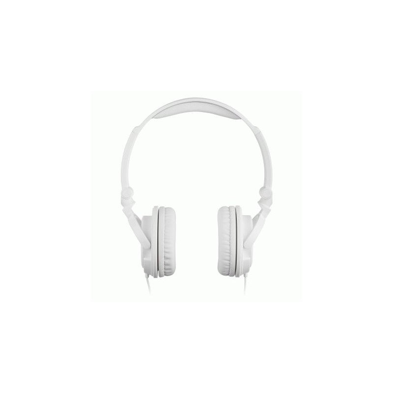 KitSound iD Headphones with Microphone and Multi-function Button White (KSIDWH)