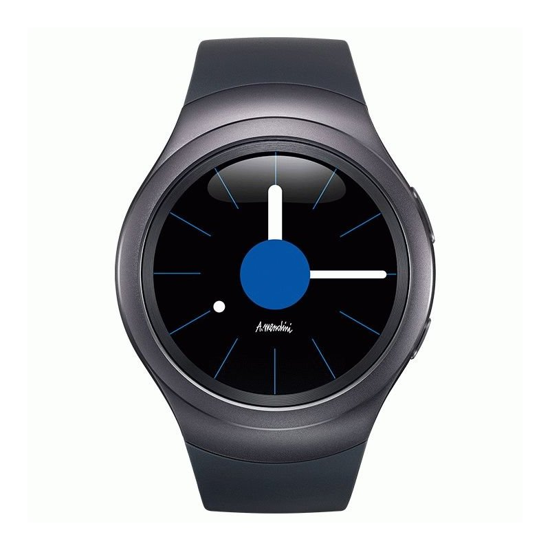 Умные часы Samsung Gear S2 Sports SM-R720 Dark Grey (SM-R7200ZKASEK)