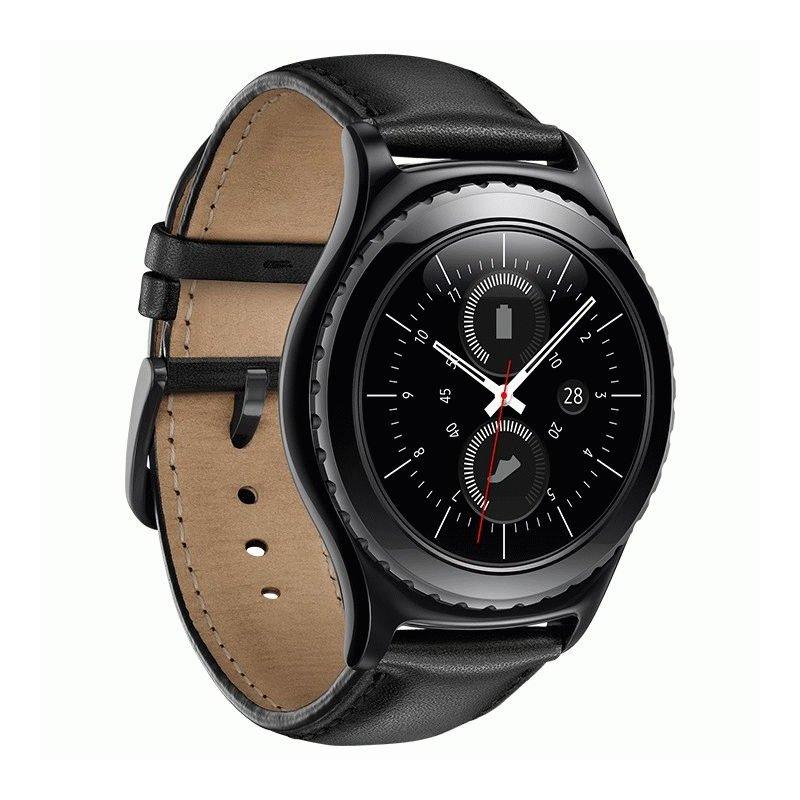Умные часы Samsung Gear S2 Classic SM-R732 Black (SM-R7320ZKASEK)
