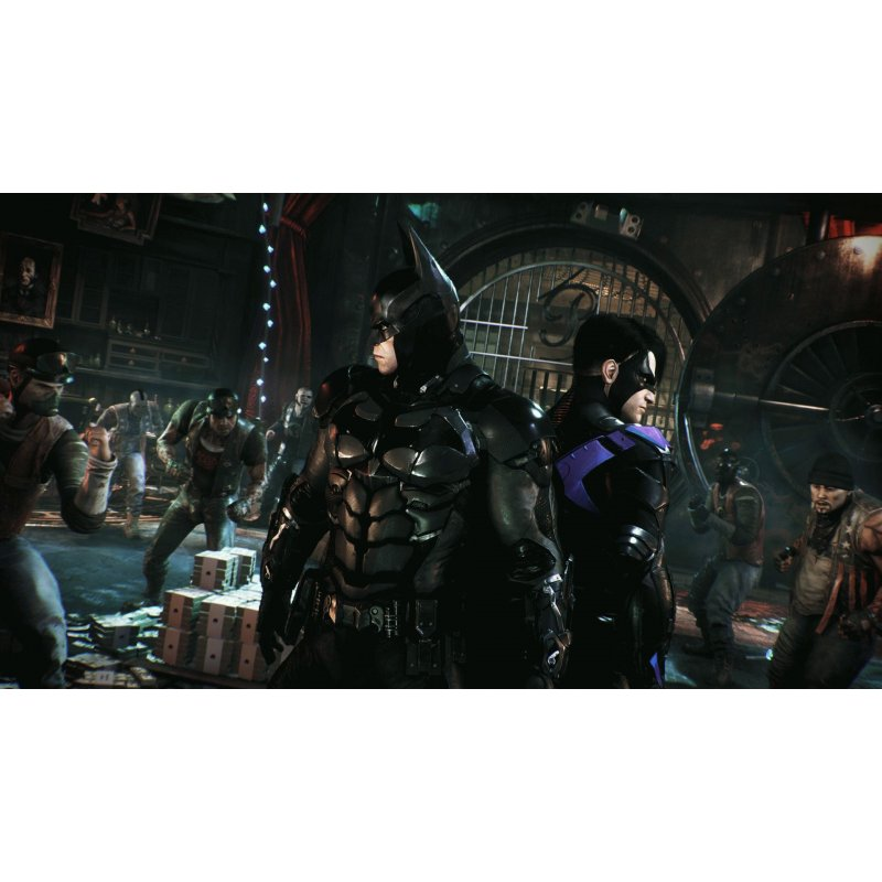 Игра Batman: Рыцарь Аркхема (русские субтитры)