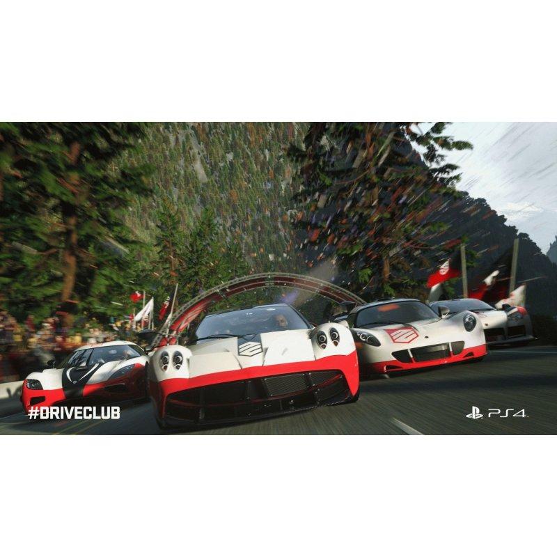 Игра DriveClub для Sony PS 4 (русская версия)