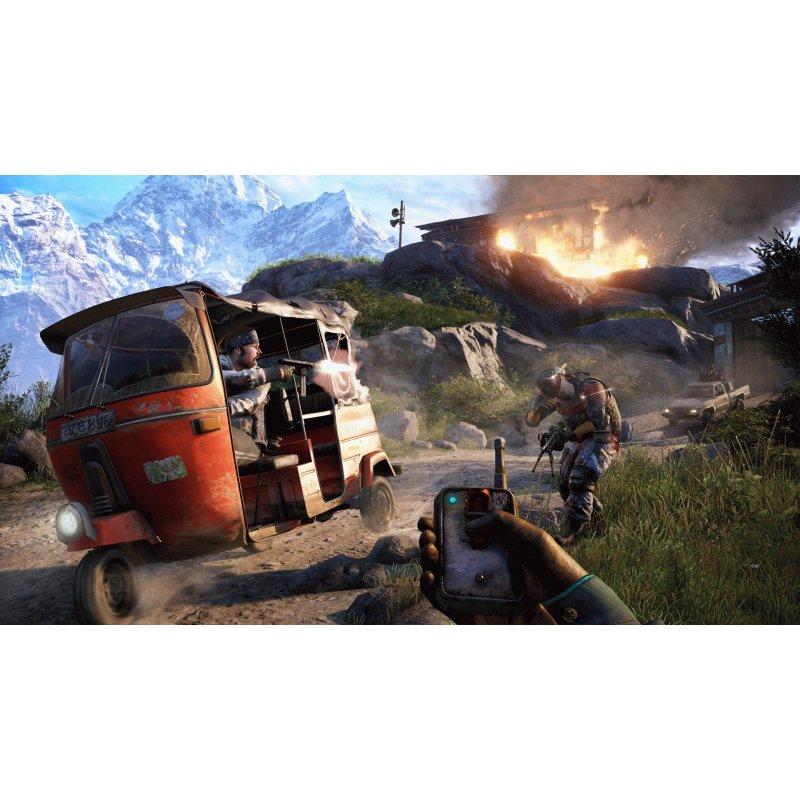 Игра Far Cry 4 для Sony PS 4 (русская версия)