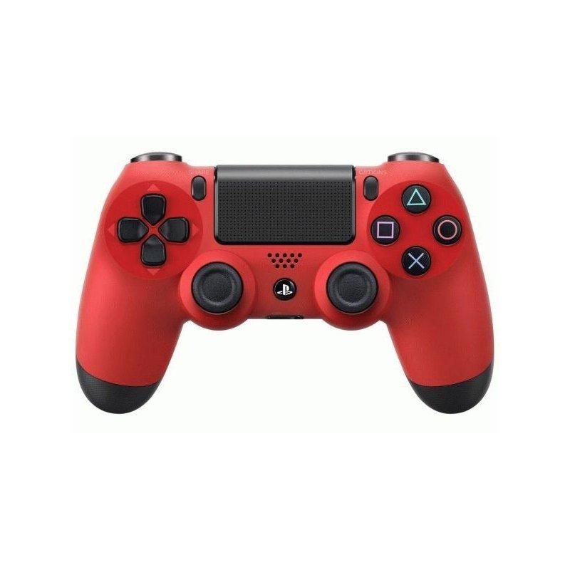 Оригинальный беспроводной джойстик Dualshock 4 Red (PS4)
