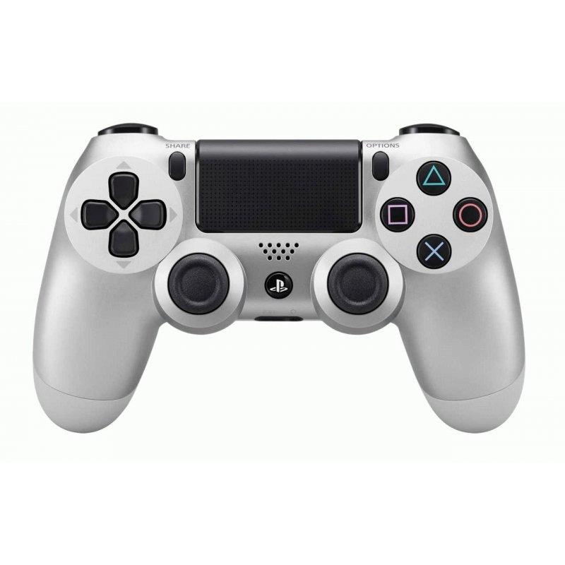 Оригинальный беспроводной джойстик Dualshock 4 Silver (PS4)