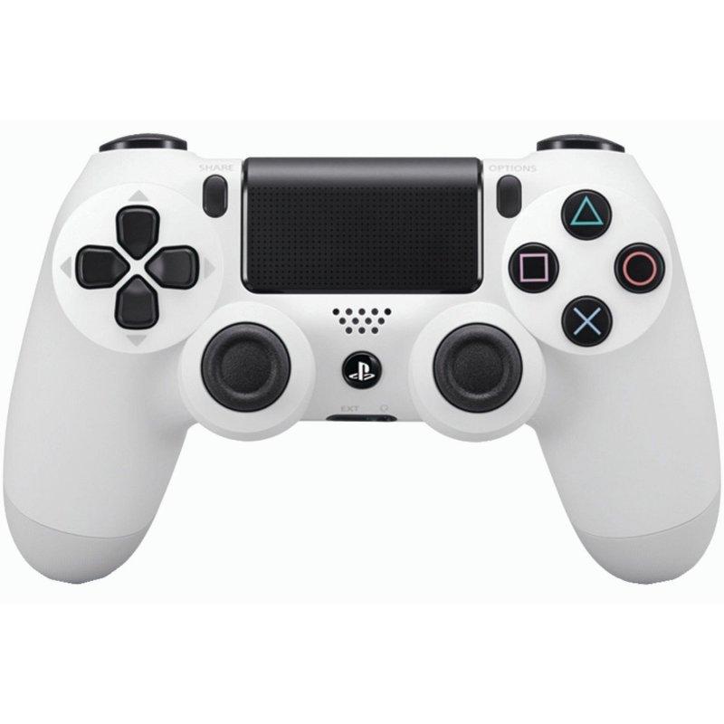 Оригинальный беспроводной джойстик Dualshock 4 White (PS4)