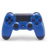 Оригинальный беспроводной джойстик Dualshock 4 Blue (PS4)
