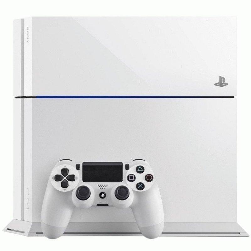 Sony PlayStation 4 Glacier White + Destiny