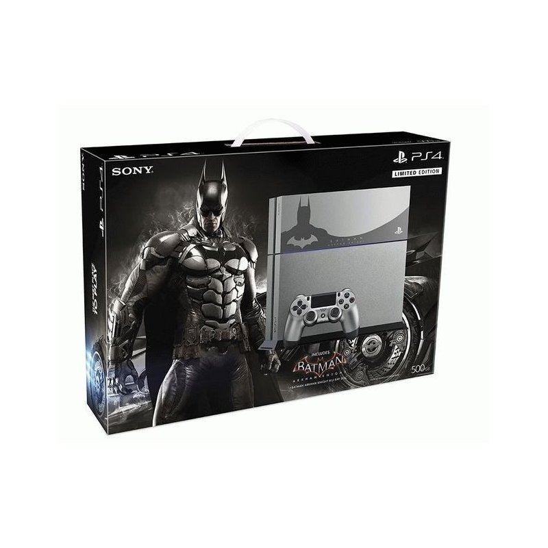 Sony PlayStation 4 + Batman: Рыцарь Аркхема. Limited Edition