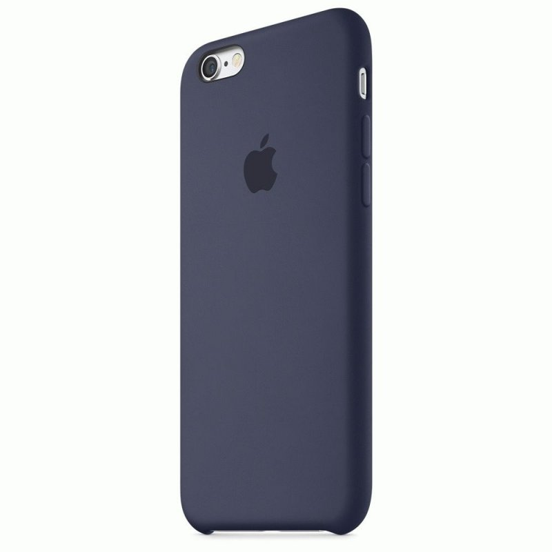 Чехол Apple iPhone 6s Silicone Case Midnight Blue (MKY22ZM/A)
