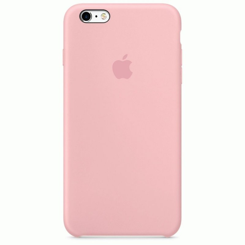 Чехол Apple iPhone 6s Silicone Case Pink (MLCU2ZM/A)
