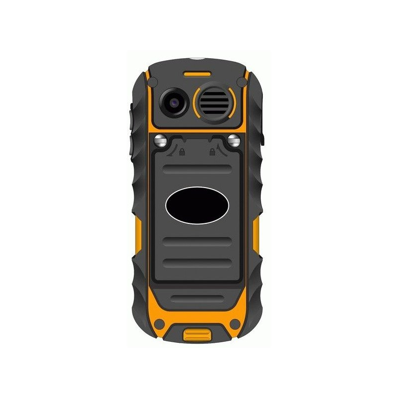 BRAVIS SOLID Dual Sim Black-Orange