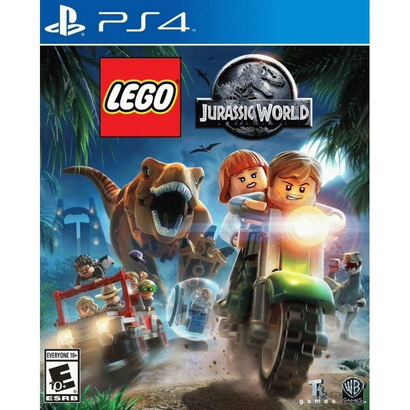 Игра LEGO Jurassic World для Sony PS 4 (русские субтитры)