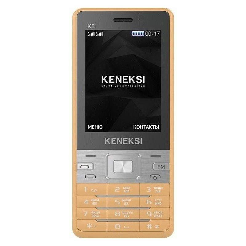 Keneksi K8 Dual Sim Golden
