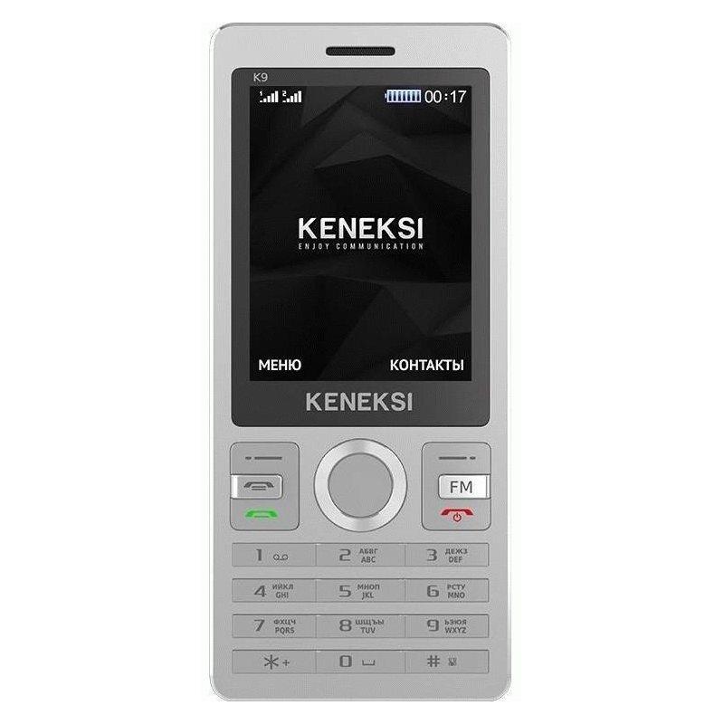 Keneksi K9 Dual Sim Silver