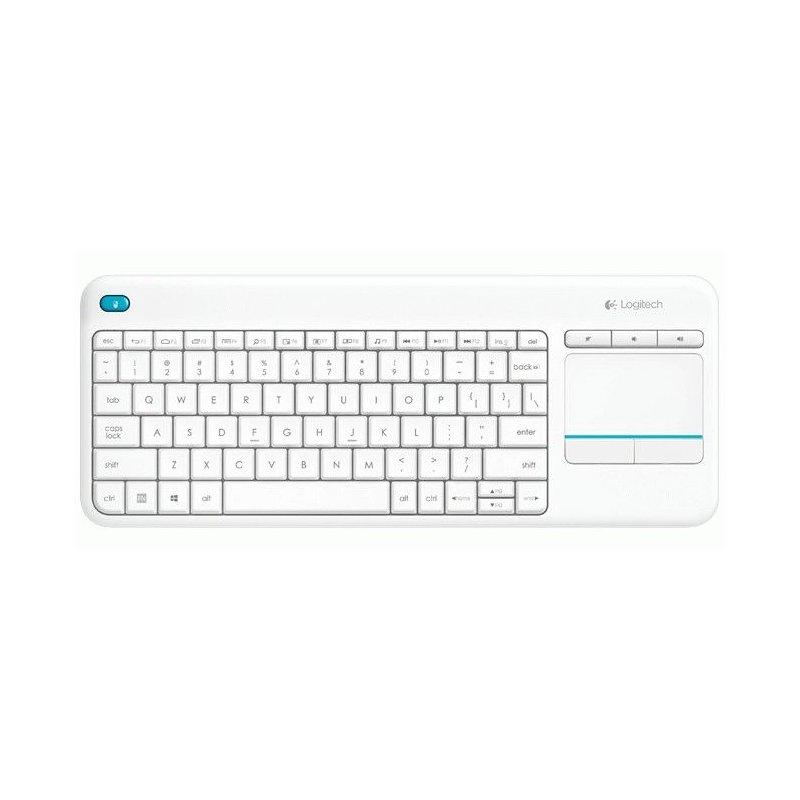 Клавиатура Logitech K400 Plus WL White