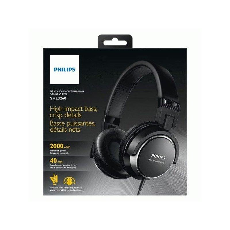 Philips SHL3260BK/00 Black