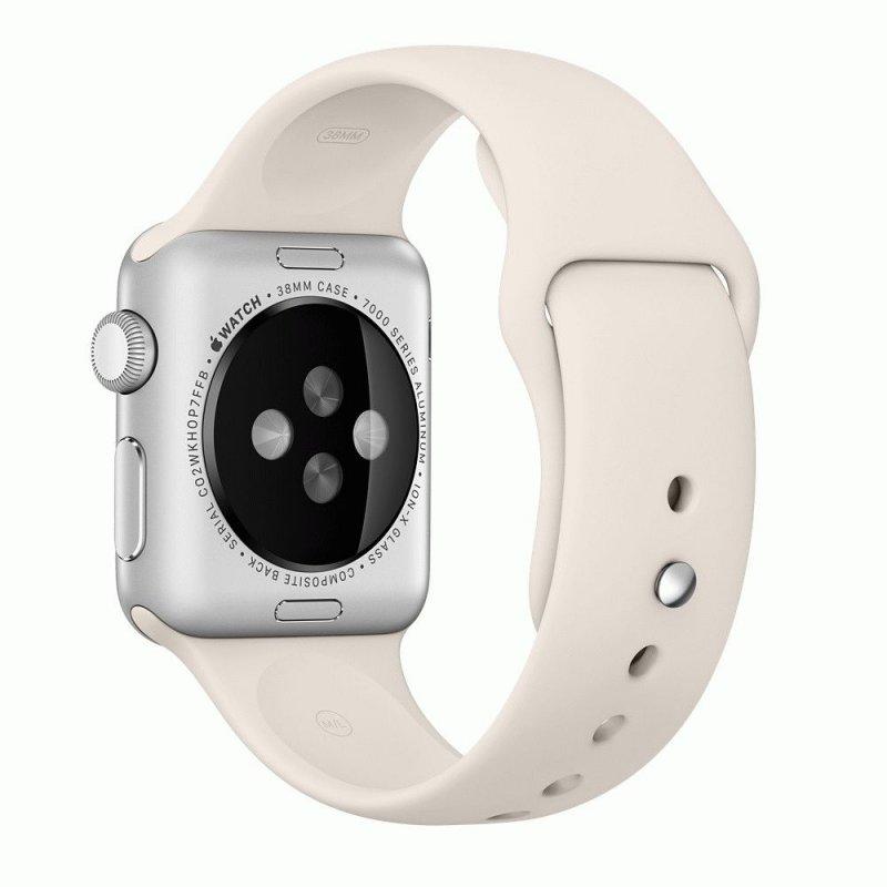 Ремешок для Apple Watch 38mm Sport Band Antique White (MLKU2)