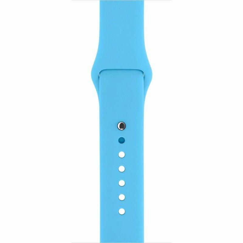 Ремешок для Apple Watch 38mm Sport Band Blue (MLDA2)