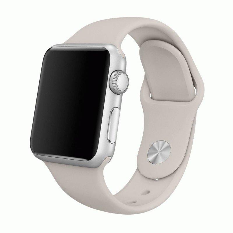 Ремешок для Apple Watch 38mm Sport Band Stone (MLKW2)