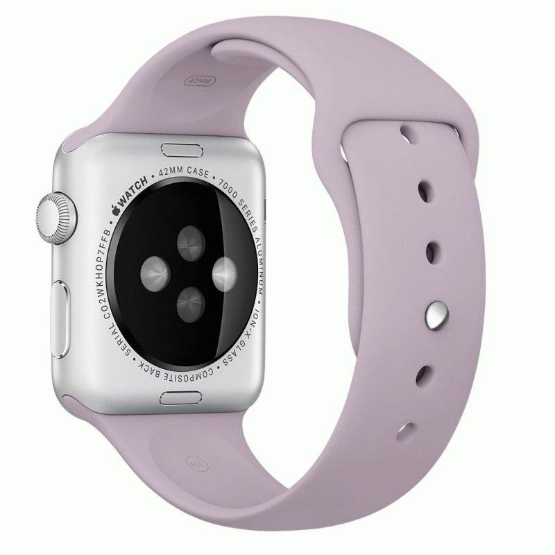 Ремешок для Apple Watch 42mm Sport Lavender (MLL22)