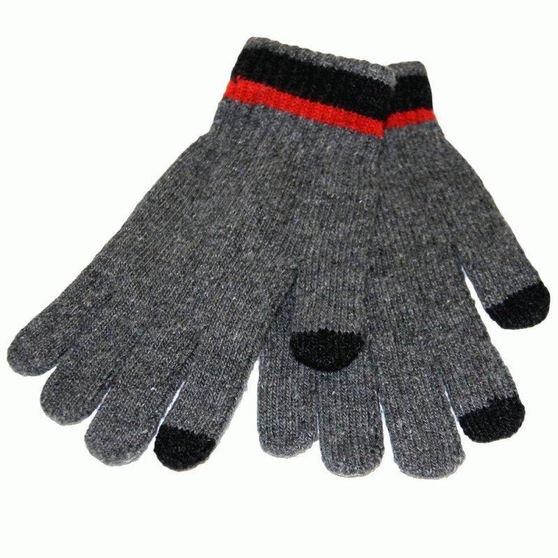 Перчатки для сенсорных экранов (Gray)