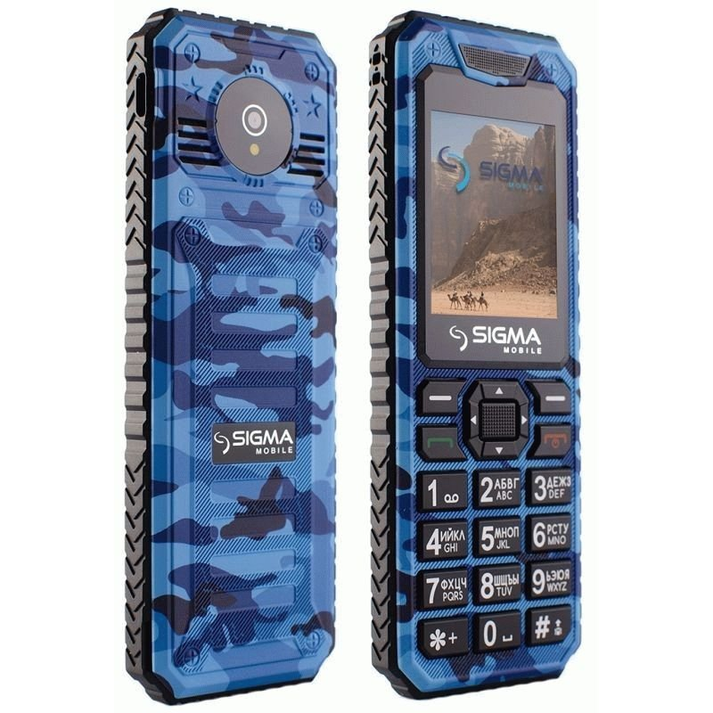 Sigma mobile X-style 11 Dragon Blue Camouflage