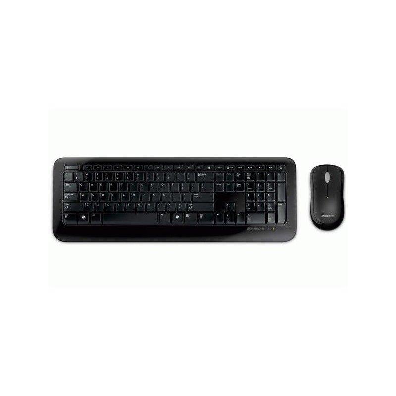 Комплект Microsoft WL Desktop 800 USB RU Ret