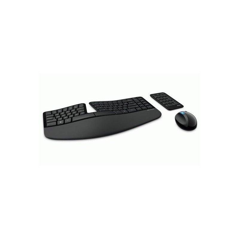 Комплект Microsoft WL Sculpt Ergonomic Desktop