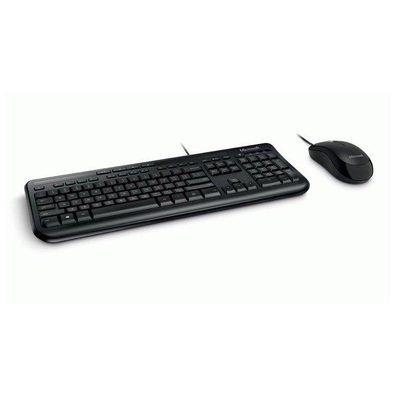 Комплект Microsoft Wired Desktop 600 USB Black Ru Ret