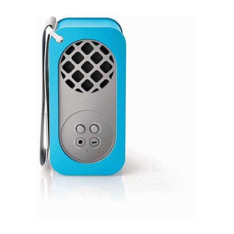 Philips BR-1X Wireless Portable Speaker (SB5200A/10) Blue