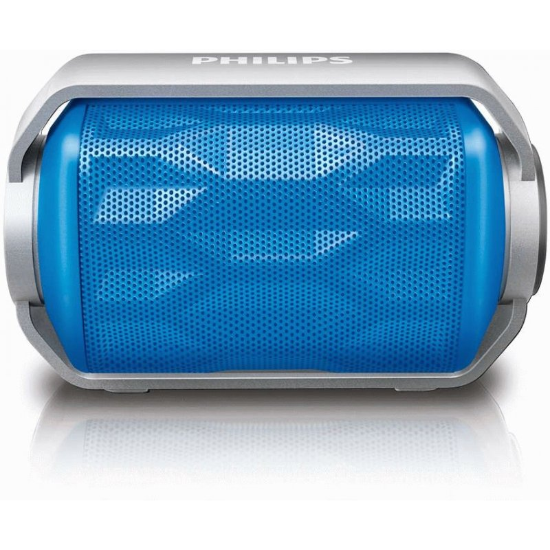 Philips BT2200 Wireless Portable Speaker (BT2200A/00) Blue
