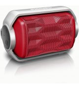 Philips BT2200 Wireless Portable Speaker (BT2200R/00) Red