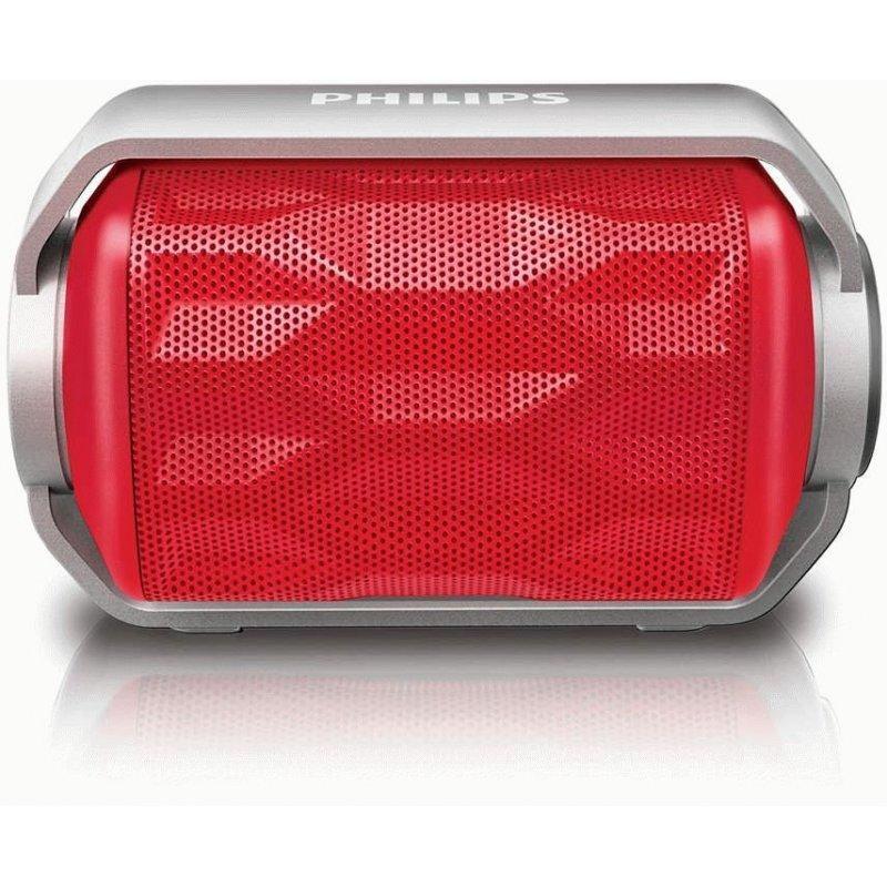 Philips BT2200 Wireless Portable Speaker (BT2200R/00) Red