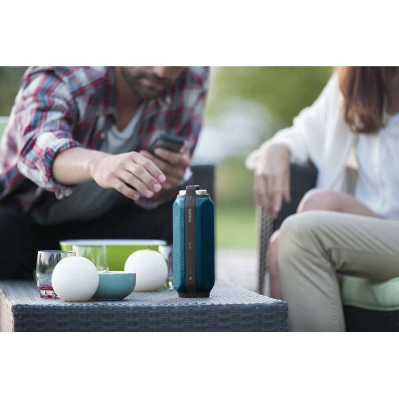 Philips BT6600 Wireless Portable Speaker (BT6600A/12) Blue