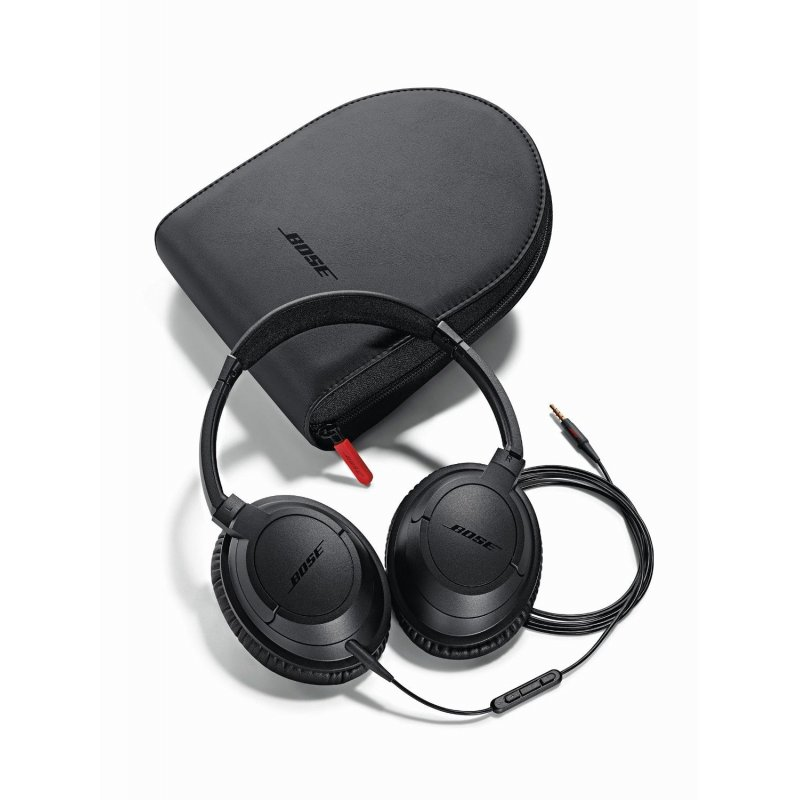 Bose SoundTrue Around-Ear Headphones MFI Charcoal Black