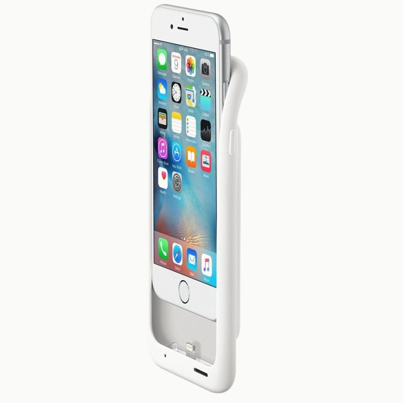 Чехол Apple iPhone 6s Smart Battery Case White (MGQM2ZM/A)